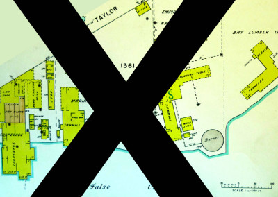 Block 1361. South of Taylor Road to False Creek, East of Cambie Bridge. Whole Block Down (Approximately 18 Buildings).