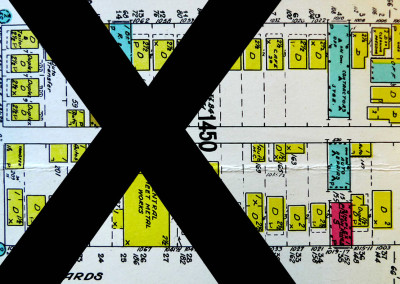 Block 1450. Richards to Seymour, Nelson to Helmcken. Whole Block Down (42 Buildings).